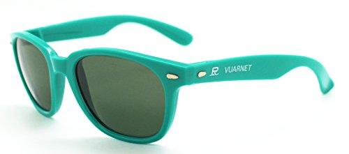 Vuarnet 088 Aqua Turquoise Wayfarer Sunglasses Px3000 Mineral Lens