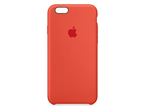 Apple MKY62ZM/A iPhone 6/6S Silikon Hülle aprikose