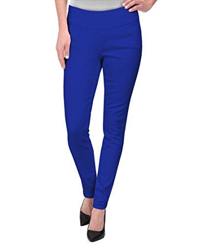 HyBrid & Company Super Comfy Stretch Pull On Millenium Pants KP44972 Royal 1X]()