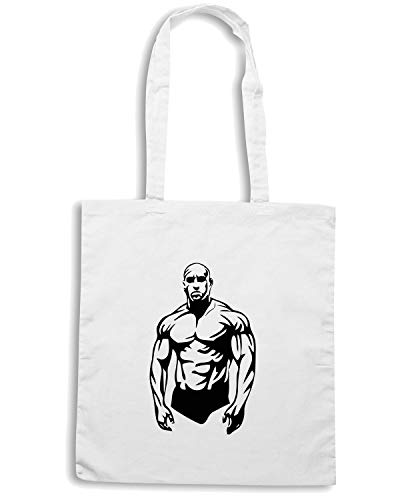 Speed TAM0187 Borsa MMA MARTIAL Bianca Shirt Shopper ARTS MIXED rqHwnIrag