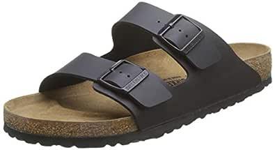 Birkenstock Arizona Unisex Sandals, Black, 37 EU
