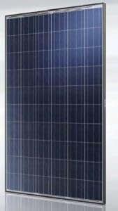 Et Solar 250W Poly BLK/WHT nos Panel Solar–Pack de 4