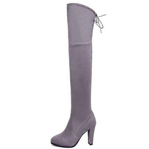 Nine SevenOver the Knee Boot - Botas mujer gris