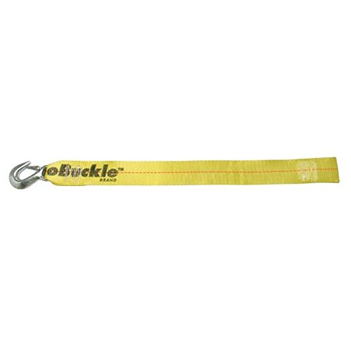 BoatBuckle Winch Strap with Loop End, Yellow, 2-Inch x 25-Feet by BoatBuckle