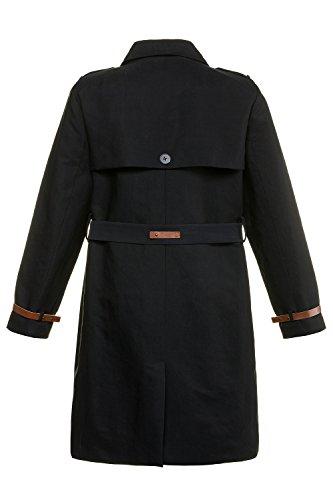 avec Trench Grandes Double de Tailles Boutonnage Ulla Bleu Popken Taille 714948 Femme Splice Marine Revers Slim Manteau Jacket Vetements d'exterieur Manteau Femme Ceinture EqOzZPnO