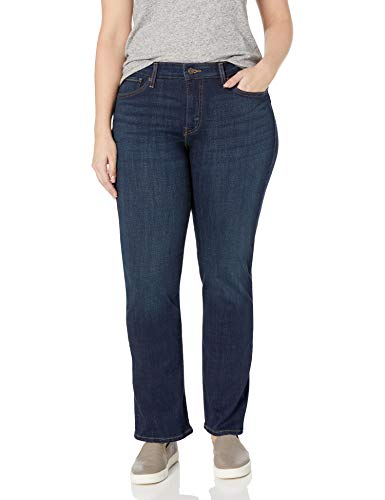 Levi's Women's 414 Plus-Size Classic Straight Jean's, Thistle Lake, 38 (US 18) S