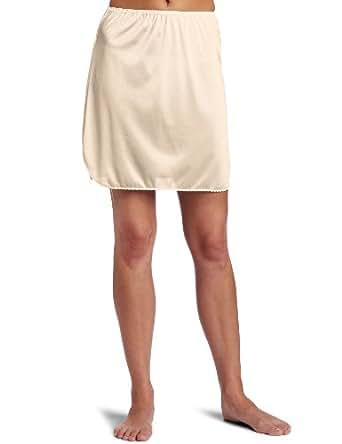 Vanity Fair Women S Plus Size Tricot Double Slit Half Slip