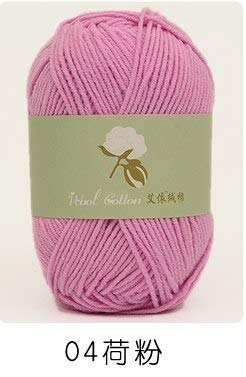 Amazoncom Yarn 1ps 50g Soft Warm Cotton Baby Wool Yarn Hand