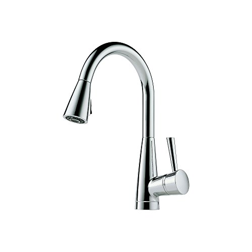 Brizo 63070LF-PC Venuto Kitchen Faucet Single Handle Deck Mount Pull-Down Spray with Magnedock Technology, (Venuto Kitchen)