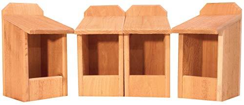 4 Cedar Nesting Boxes -
