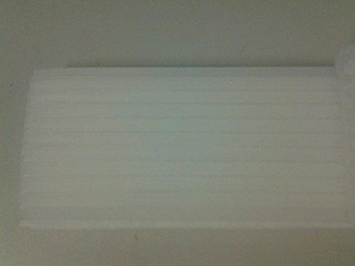 Dental Utility Wax White Square Rope, 3 ⁄16'' 44/Box 9522427