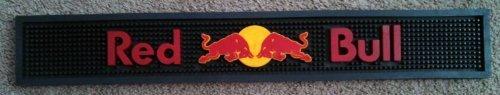 Bar Spill Mat (Red Bull Energy Drink Bar Rail Mat Spill Runner Coaster)