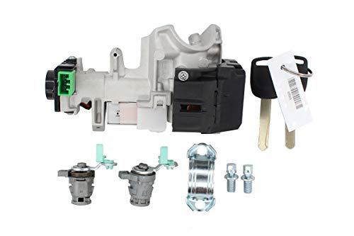 New and Complete Set Ignition Switch Cylinder Door Lock with 2 Keys for 02-06 Honda CRV