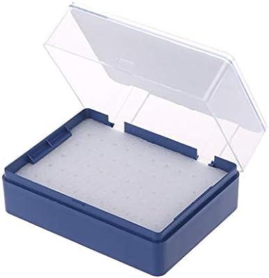 A0127 Caja de plástico con Organizador de Fresas de Espuma para 50 Brocas PCB: Amazon.es: Bricolaje y herramientas