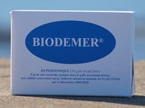 Agua de mar hipertónica orgánica (como Quinton hipertónica) | 30 ...