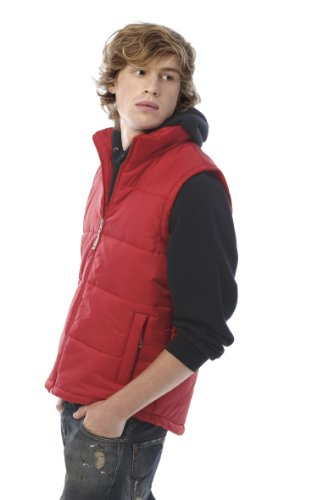 C B & Bodywarmer Men BCJM930 Red-Size: M / Brand new / original Packaging by BC Footwear