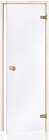 Glass House Eco Puertas De Sauna 70 X 190 | Color De Cristal: Transparente | Material De Montura: Aspen: Amazon.es: Hogar