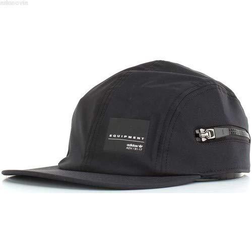 bdadbd991873c adidas BQ5779 Unisex Originals Zip Hat EQT Cap Black White  Amazon.ca   Clothing   Accessories