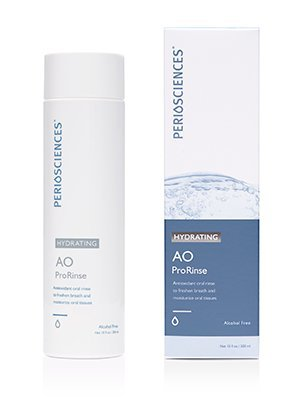 - PerioSciences AO ProRinse Hydrating Mouthwash - 10oz Alcohol-Free Natural Mint Flavor