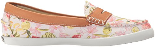 Cole Haan Frauen Pinch Weekender Penny Loafer Blumendruck / British Tan
