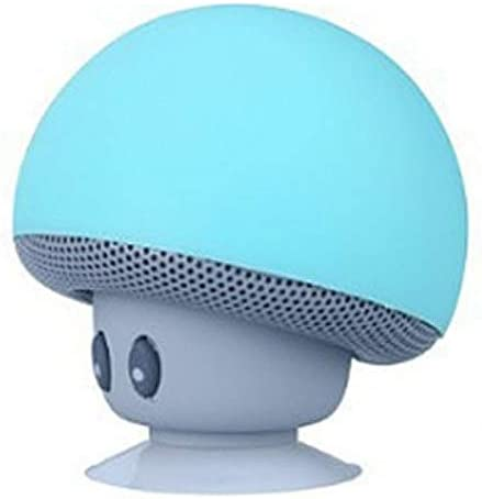 Mignon seta altavoz portátil altavoz inalámbrico Mushroom selfie ...
