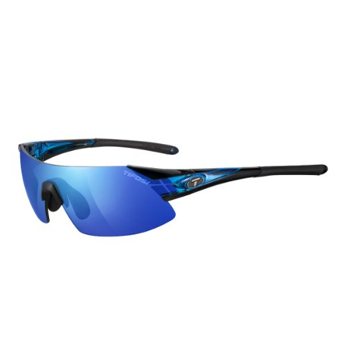 Tifosi Podium XC Podium Shield Sunglasses,Crystal Blue,143 - Podium Sunglasses