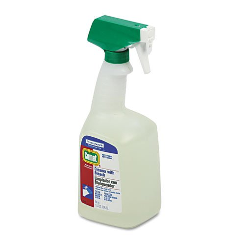 Comet Disinfecting Cleaner - Comet Disinfecting Cleaner w/Bleach, 32 oz. Trigger Spray Bottle - Includes eight trigger spray bottles of cleaner.
