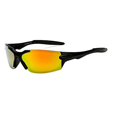 TL-Sunglasses Gafas de Sol Gafas de Sol polarizadas Polaroid paraviento Gafas de Espejo UV400 Gafas Gafas de Sol para Hombres Mujeres,KP1022 C2: Amazon.es: ...