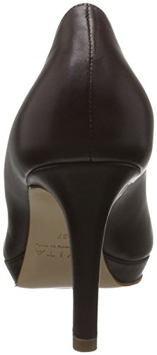 Evita Shoes Women's Bianca Closed Toe Heels Brown (Dunkelbraun 22) cheap supply cheap sale prices best seller for sale i75UEOhz