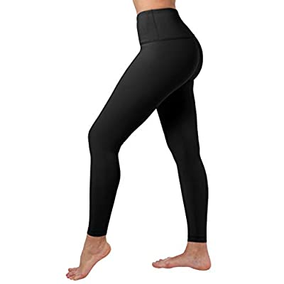 90 Degree By Reflex High Waist Squat Proof Ankle Length Interlink Leggings at Women's Clothing store