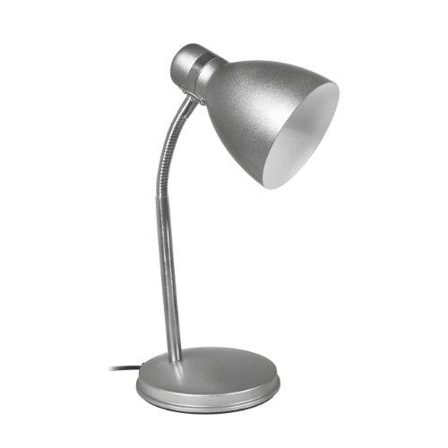 Kanlux lámpara de mesa E14 plata Zara hr-40-sr: Amazon.es ...