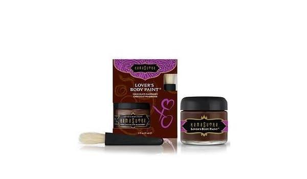 Amazoncom Kama Sutra Lovers Body Paint Dark Chocolate