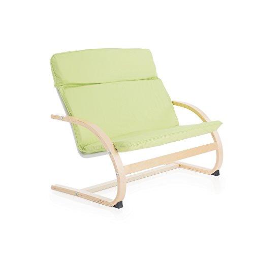 Guidecraft Kiddie Rocker, Light Green Couch - Kids Furniture by Guidecraft