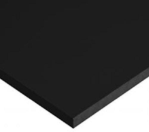 HDPE Plastic Sheet 1//4 x 48 X 24 Black Light Texture Both Sides High Density Polyethylene