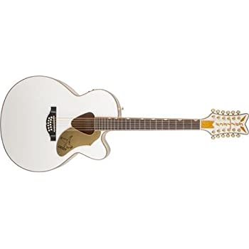 gretsch g5022cwfe 12 rancher falcon white 12 string acoustic electric guitar. Black Bedroom Furniture Sets. Home Design Ideas