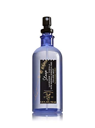 Mist Pillow - Bath & Body Works Aromatherapy Pillow Mist Sleep - Lavender Vanilla, 5.3 Fl Oz