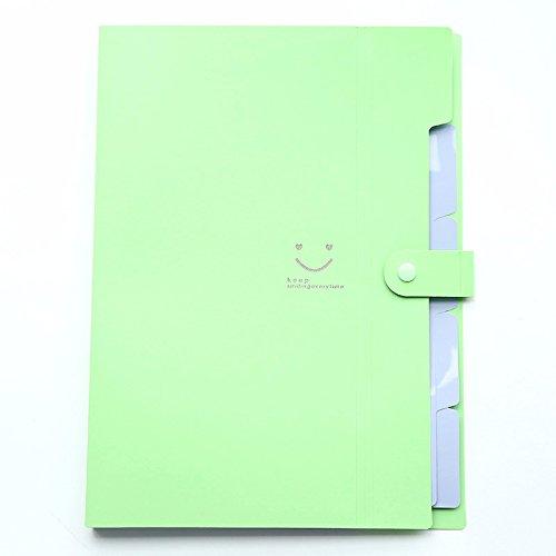 Cute Folders Portable Accordion File Folder Labels Expandable File Folder Organizer