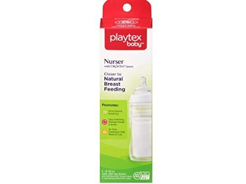 Playtex Nurser Drop-Ins Liners Premium 8-10 oz BPA-Free Bott