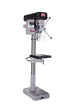"Dake 77400-1V Model SB-32V Floor Drill Press with Locking Hub, 1-1/4"" Capacity Variable Speed, 110V"