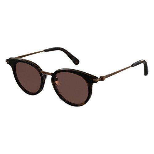 Sunglasses Brioni BR0009S-003 003 AVANA / BROWN - Brioni Sunglasses