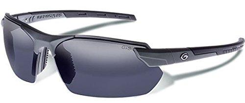Eyewear Sunglasses Gargoyles - Gargoyles (10700184.QTM) Vortex Safety Glasses, Matte Metallic Graphite