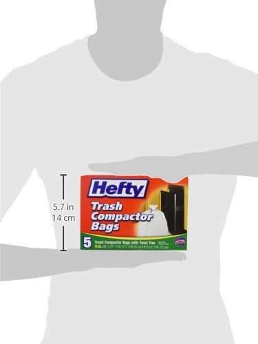 Reynolds Consumer Products E2-1218 Hefty 5-Count 18-Gallon Trash Compactor Bag