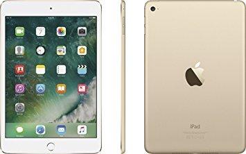 Apple iPad Mini 4 with 7.9'' Retina Display, 128GB SSD, 2GB RAM, Dual-Core A8 Chip, Quad-Core Graphics, Wi-Fi, MIMO, Bluetooth, Apple iOS 9, Gold by Apple