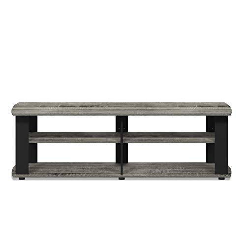 FURINNO Nelly Entertainment Center TV Stand, Short 43.3