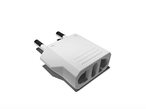 Guardian [3-Pack] Reiseadapter/Adapter USA/US/Japan/China auf Deutschland/DE/Europa/EU/EUR-weiß
