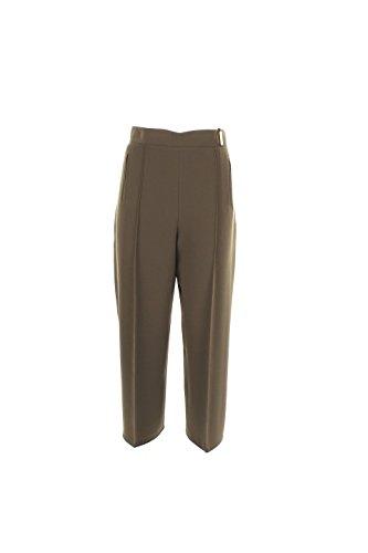 Pantalone Donna Elisabetta Franchi 44 Militare Pa9153236 Autunno Inverno 2016/17