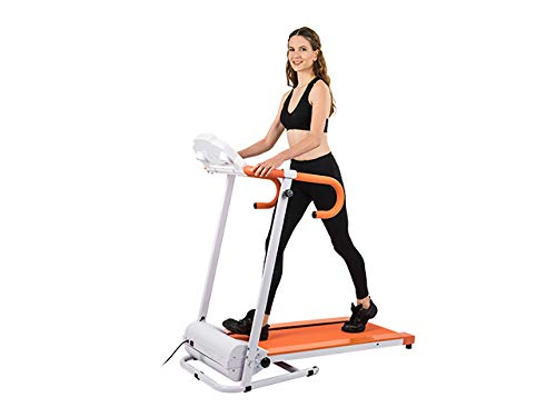 AuWit 1100W Series Electric Motorized Folding Treadmill (RED) by AuWit (Image #1)
