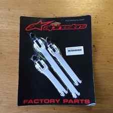 Alpinestars 25LOT112 Tech 1 Buckle/Strap Set - White