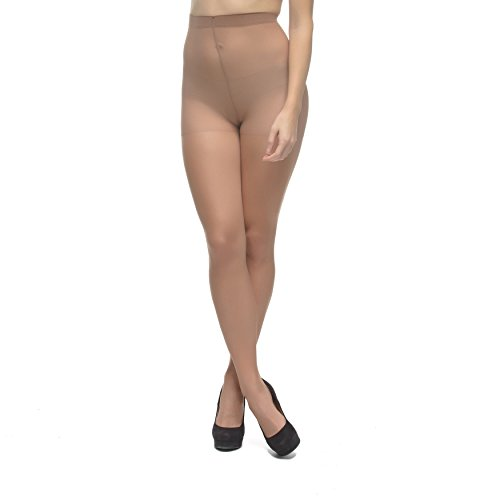 LadyDorset Thin Class Sheer Pantyhose - Soft and Elegant - Hosiery for Women - 2 Pairs ()