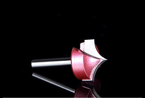 NO LOGO 1pc 6mm Schaft Industrial Grade Holzbe- Beak 3D Clearing Bottom Router Bitflanke Dreidimensionale Graviermaschine Werkzeug (Größe : J00303)